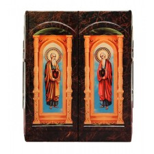 Иллюстрированная Библия (в коробе иконостас-складень)