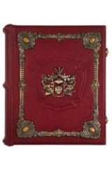 Элитная родословная книга с полудрагоценными камнями