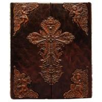 Библия большая с иконостасом и крашенным обрезом